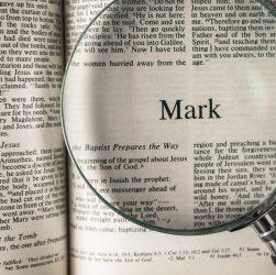 no resurrection in mark